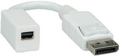 Adapter DisplayPort male naar mini DisplayPort female