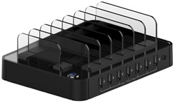 Oplader USB 7 poorten 12W (2,4A) Roline