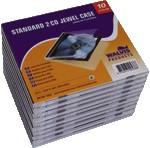 CD-doosjes Walvis JC dubbel pk/10