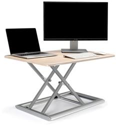 Zit-sta werkplek OPUS 2 Style Plus berken/wit