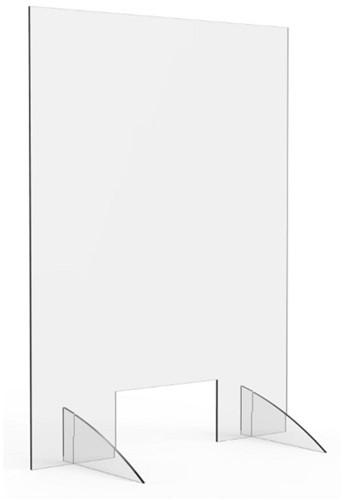 Preventiescherm  75x100cm staand
