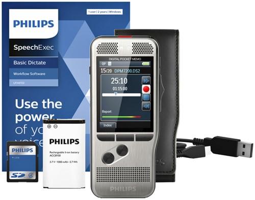 Dicteerapparaat Philips PocketMemo DPM7200