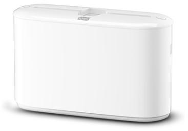 Tafel handdoekdispenser Tork H2 countertop wit