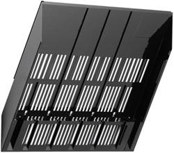 Folderhouder Flexiboxx A4 liggend zwart