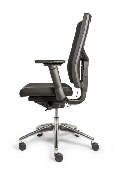 Verstelbare Bureaustoel Zwart.Bureaustoel Dekas Model Edition Comfort Inclusief Verstelbare