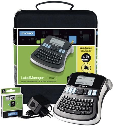 Labelprinter Dymo LM210D incl. koffer + adapter