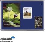 Prikbord Universal textiel 60x90cm blauw (OP = OP)