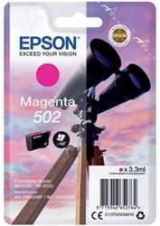 Inkcartridge Epson T02V3 502 magenta