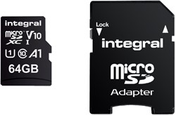 Integral geheugenkaart Micro SDHC V10