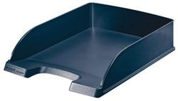 Brievenbakje Leitz plus A4 5217 recycle blauw