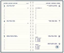 Agenda 2019 Ryam Memo 7 Staan ringplastic Suprema Zwart