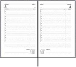 Agenda 2019 Ryam Efficiency Kort 1 dag/1 pagina Zwart
