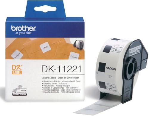 Etiket Brother  23x23mm rol/1000 DK-11221