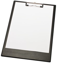 Klembord A4/folio met 2 magneten zwart