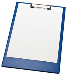 Klembord A4/folio klem 10cm blauw