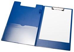 Klembord LPC A4/Folio klem 10cm penlus/hoes blauw