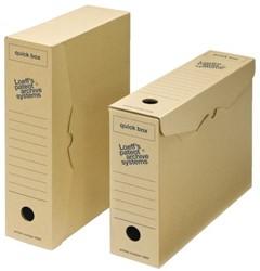 Archiefdoos Loeff 3000 335x240x80mm Quick box A4