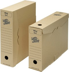 Archiefdoos Loeff 3003 345x250x80mm Filing box folio