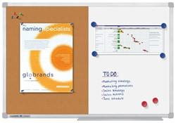 Duobord Lega economy 90x120cm gelakt/kurk