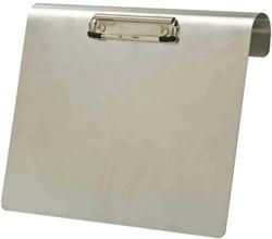 Klembord aluminium A4 liggend