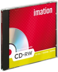 CD-RW 80min/700Mb Imation JC 4x12X