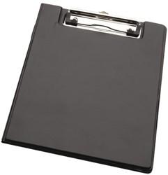Kassablokhouder A5 karton draadklem 10cm zwart