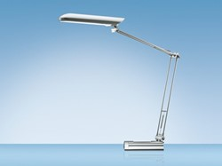 Bureaulamp Hansa Ecolux zilver
