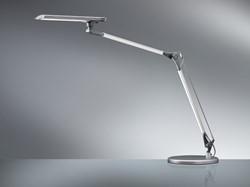 Bureaulamp Hansa Comfort Dubbele Arm Aluminium