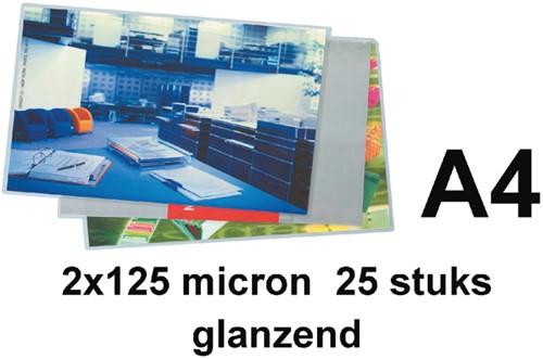 Lamineerhoes 216x303mm 2x125mic GBC A4 glans ds/25