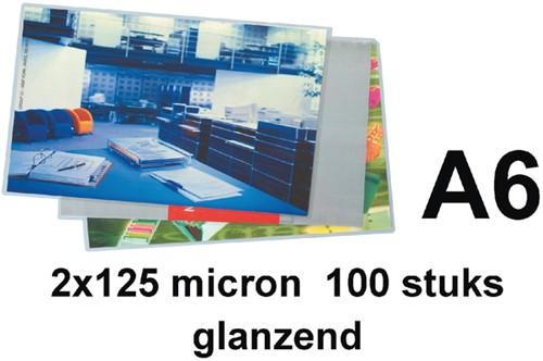 Lamineerhoes 111x154mm 2x125mic GBC A6 ds/100