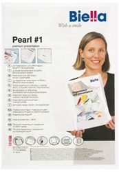 Offertemap Pearl1 + insteektas 2 flappen wit
