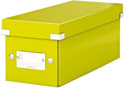 Opbergbox Leitz WOW Click & Store CD 143x136x352mm groen