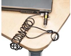Beveiligingsset Kensington portable laptop lock