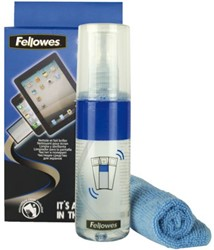 Reinigingsset Fellowes 2in1 schermreiniger 125ml