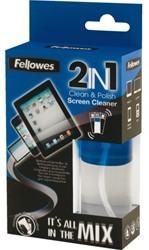 Reinigingsset Fellowes 2in1 schermreiniger 50ml