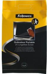 Reinigingsdoekje Fellowes laptop  25 st