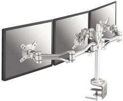 Monitorarm Newstar D1030D3 10-18' klem zilver