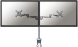 Flatscreenarm Newstar D935 duo zilver