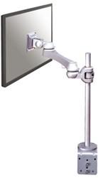 Monitorarm Newstar D920 10-24' klem zilver