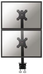 Monitorarm Newstar D700DV 10-24' klem zwart