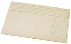 Binnenmap Folio 5-delig A6200-5