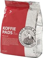 Koffiepads Alex Meijer Regular 7gr pk/36