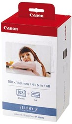Inkjetpapier Canon KP-108IN 10x15cm 245gr 108vel