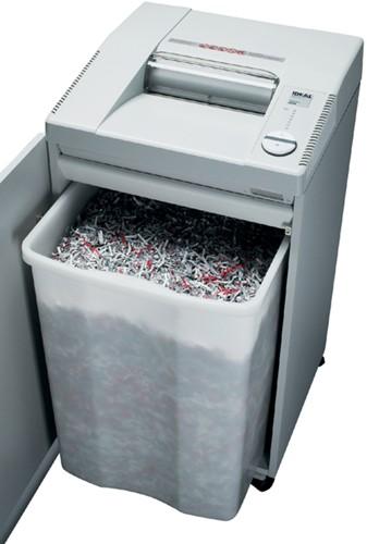 Papiervernietiger Ideal 2604 SMC 0,8x5mm + onderkast