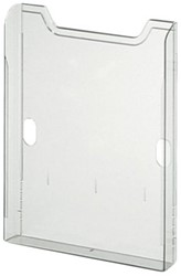 Papierbox multiform A4 staand transpaant