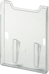 Eindbox multiform A4 staand transparant