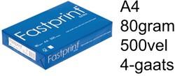 Papier  80g A4 Fastprint Extra 4-gaats pk/500