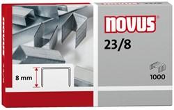 Nietjes 23/8 Novus verzinkt ds/1000