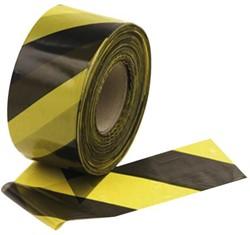 Signalisatielint 250 meter geel/zwart