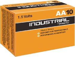 Batterij Duracell industrial AA alkaline ds/10